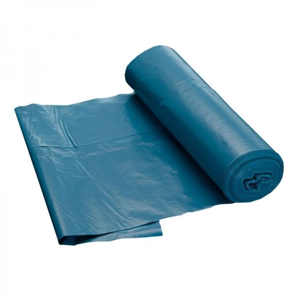 blaue Abfallsäcke, 70 Liter