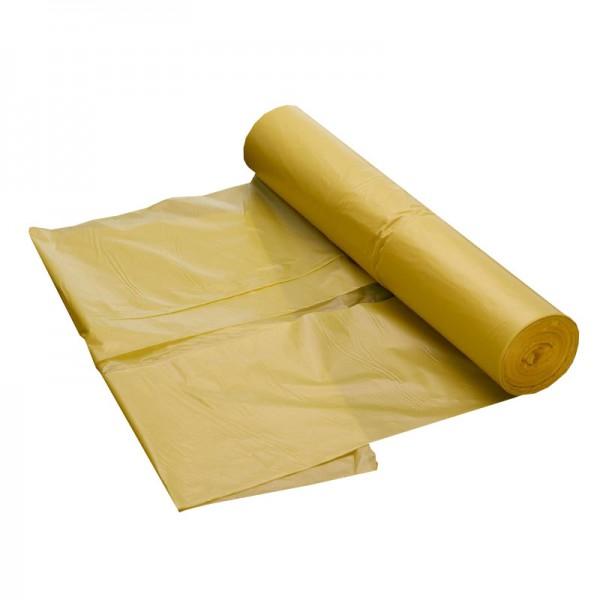 Abfallsack 120 Liter - gelb