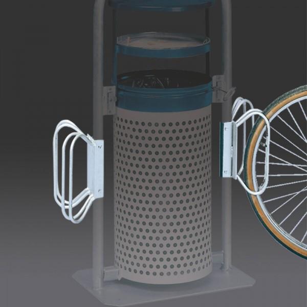 Fahrradständer für Abfallsammler BASKET